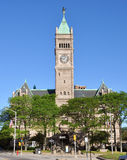 Città corridoio, Massachusetts, S.U.A. di Lowell Immagine Stock Libera da Diritti