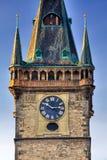 Città corridoio a Praga fotografia stock libera da diritti