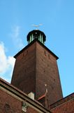 Città corridoio Stoccolma fotografia stock libera da diritti
