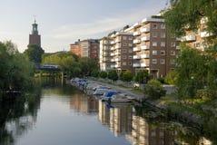 Città corridoio Stoccolma, Svezia Immagine Stock