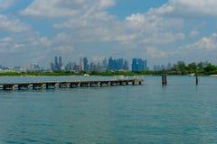Città d'oltremare Fotografie Stock Libere da Diritti