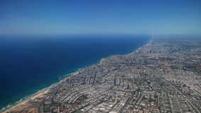 Città dal cielo Fotografia Stock Libera da Diritti