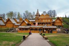 Città degli artigiani in Gorodets fotografia stock libera da diritti