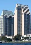 Città degli edifici di San Diego Fotografie Stock Libere da Diritti
