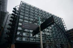 Città degli uffici di Londra Fotografie Stock Libere da Diritti