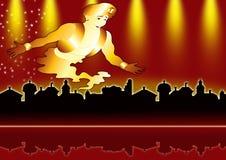 Città del Aladdin royalty illustrazione gratis
