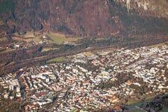 Città del Bad Reichenhall, Germania Fotografia Stock Libera da Diritti