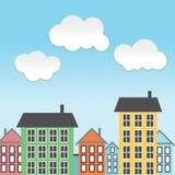 Città del bambino Royalty Illustrazione gratis