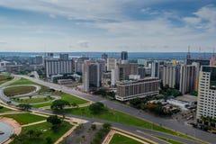 Città del Brasile - Brasilia DF immagini stock libere da diritti