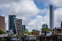 Città del Brasile - Recife, la capitale dello stato del Pernambuco fotografia stock libera da diritti