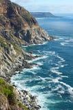 Città del Capo di punta di Chapman della linea costiera Fotografie Stock