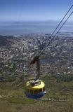Città del Capo - montagna della Tabella - la Sudafrica immagine stock