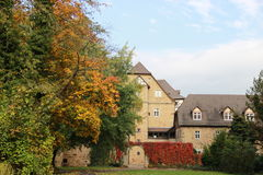 Città del castello del conte di Melsungen Immagine Stock