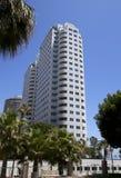 Città del centro degli edifici di Long Beach Immagini Stock Libere da Diritti