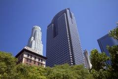 Città del centro degli edifici di Los Angeles fotografia stock libera da diritti