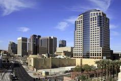 Città del centro degli edifici per uffici di Phoenix Arizona Immagine Stock