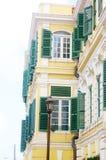 Città del centro di Christiansted noi le Isole Vergini fotografie stock