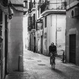 Città del ciclo Fotografie Stock Libere da Diritti