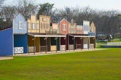 Città del cowboy Fotografia Stock