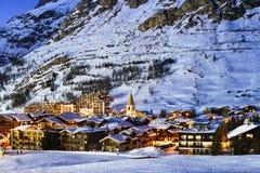 Città del d'Isère di Val Fotografia Stock Libera da Diritti