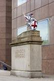 Città del drago di Londra Fotografia Stock Libera da Diritti