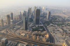 Città del Dubai Fotografia Stock