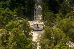 CITTÀ DEL MESSICO - CIRCA MAGGIO 2013: Alameda Central Park Fotografie Stock Libere da Diritti