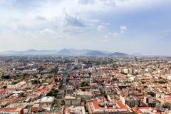 CITTÀ DEL MESSICO - CIRCA MAGGIO 2013: Vista panoramica Fotografie Stock