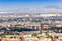 CITTÀ DEL MESSICO - CIRCA MAGGIO 2013: Vista panoramica Immagine Stock Libera da Diritti