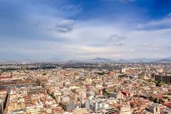 CITTÀ DEL MESSICO - CIRCA MAGGIO 2013: Vista panoramica Fotografia Stock