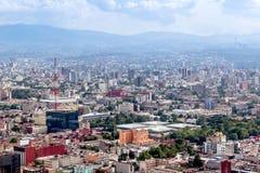 CITTÀ DEL MESSICO - CIRCA MAGGIO 2013: Vista panoramica Fotografia Stock Libera da Diritti