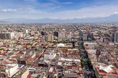 CITTÀ DEL MESSICO - CIRCA MAGGIO 2013: Vista panoramica Immagini Stock