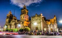 Città del Messico, plaza principale Fotografia Stock Libera da Diritti