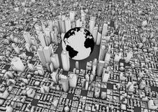 Città del mondo Immagini Stock Libere da Diritti
