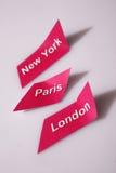 Città del mondo Fotografia Stock