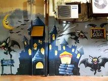 Città del pipistrello Immagine Stock Libera da Diritti