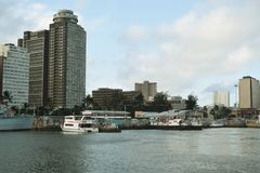 Città del porto fotografia stock libera da diritti