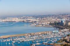 Città del porto degli yacht di Durban fotografia stock