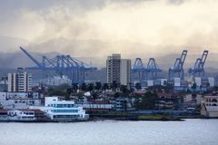 Città del porto del ` s del Panama Immagine Stock Libera da Diritti