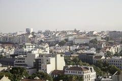 Città del Portoghese di Lisbona Immagine Stock