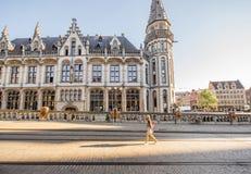 Città del signore nel Belgio Immagini Stock