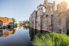 Città del signore nel Belgio Fotografie Stock Libere da Diritti