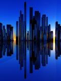Città del Soundwave 2 Fotografia Stock Libera da Diritti