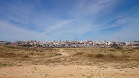 Città del terreno incolto Fotografia Stock