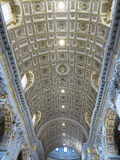 19 06 2017, Città del Vaticano: Interno dell'interno del ` s di St Peter basilico Immagini Stock Libere da Diritti
