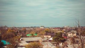 Città del video di Timelaps Immagine Stock Libera da Diritti
