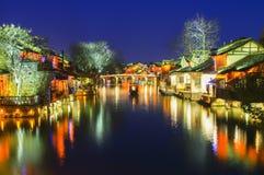 Città dell'acqua di WuZhen Immagini Stock Libere da Diritti