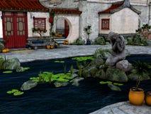 Città dell'Asia Royalty Illustrazione gratis