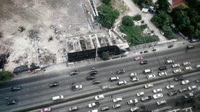 Città dell'automobile Fotografia Stock Libera da Diritti