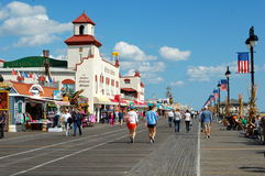 Città dell'oceano, New Jersey Immagini Stock